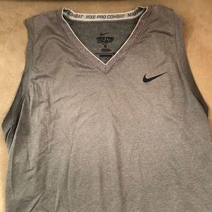 Grey Nike Dry-Fit Tank Top